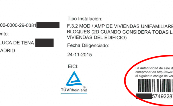 boletin electrico madrid
